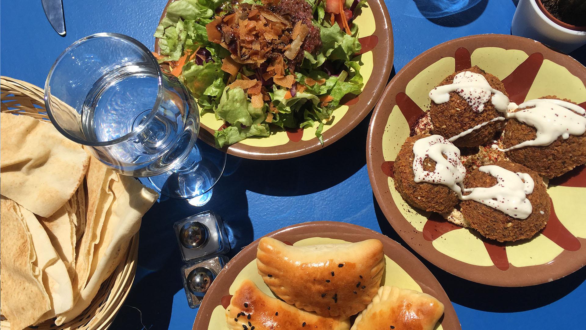 Syrisch-palestijns eten bij Bistronomie Yasmine Vieux Port in Marseille